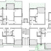 разпределение партерен етаж